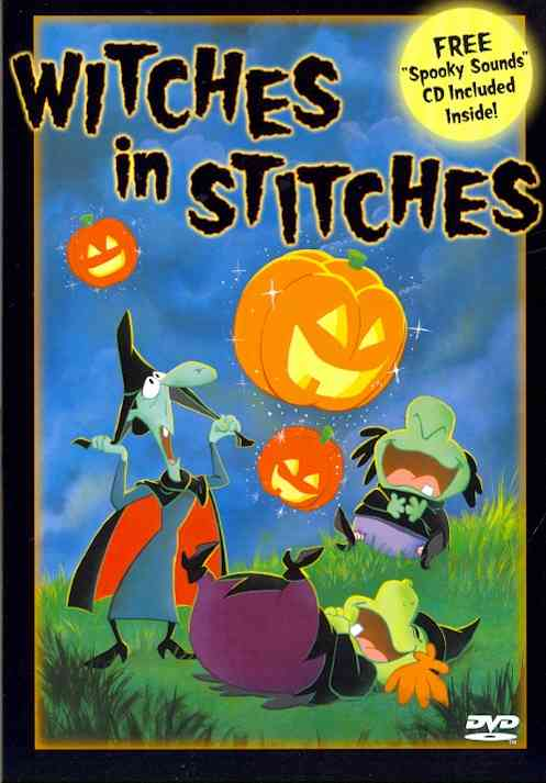 WITCHES IN STITCHES BY HARRIS,RUSS (DVD)